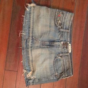 Abercrombie & Fitch Jean Skirt